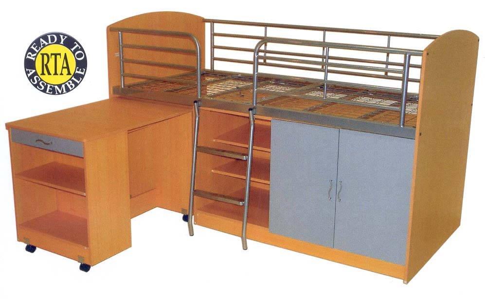 combo bunk bed single bed size 799 browse bunk beds