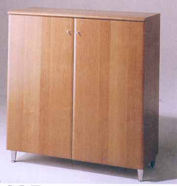 *Pictured in Beech with Smooth Doors*. Shoe Cabinet/Hall Stand